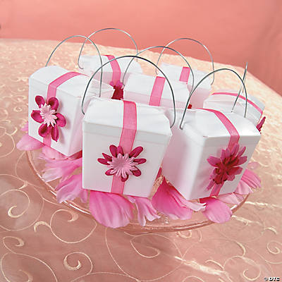 Decorated Take Out Box Idea