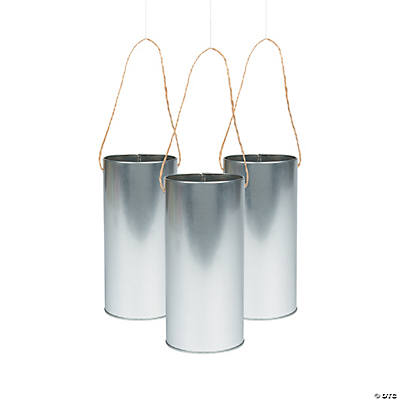 Decorative Hanging Cans