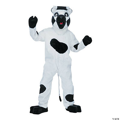 Deluxe Complete Cow Mascot Costume