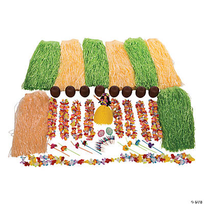 Deluxe Hula Party Kit For 12