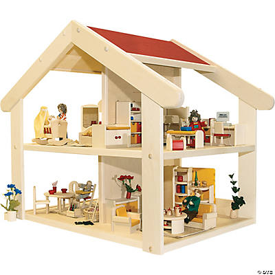 Deluxe Wooden Doll House