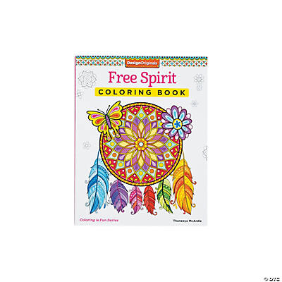 Coloring Books For Adults Hobby Lobby : Design Originals Free Spirit Adult Coloring Book