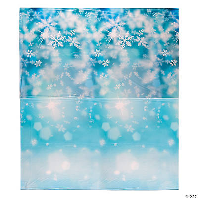 Design-A-Room Snowflake Print Backdrop