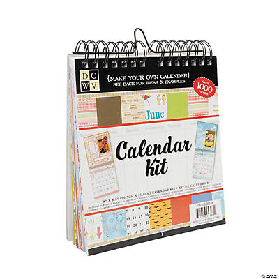 Die Cuts with A View® Scrap Your Own! Calendar Kit