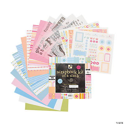 Die Cuts with A View® Scrapbook Kit in A Stack™ – All Occasion