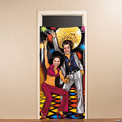 Disco Party Photo Door Banner