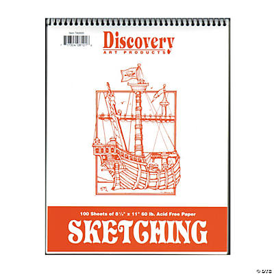Discovery Sketching Pads