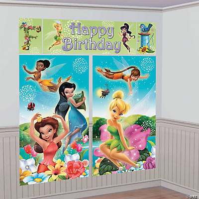 Disney Fairies Tinker Bell Backdrop Set