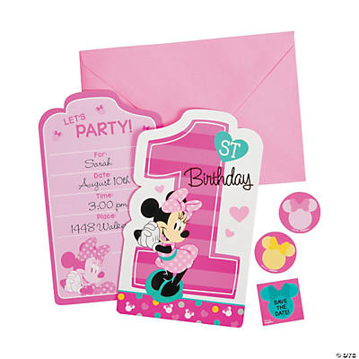 Disney® Minnie's Fun To Be One Invites