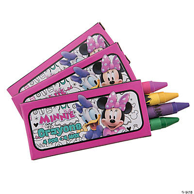 Disney Minnie's Happy Helpers Crayons
