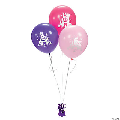 "Disney Princess ""1st Birthday"" Latex Balloons"