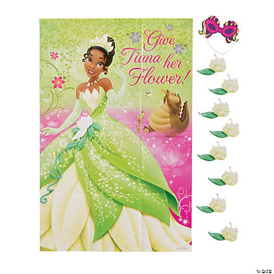 Disney Princess Tiana Party Game