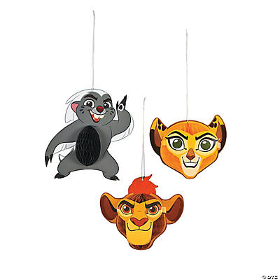 Disney® The Lion Guard Honeycomb Hanging Decorations