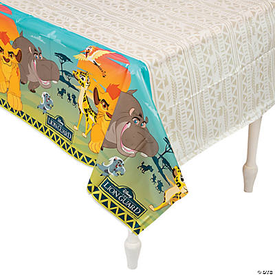 Disney® The Lion Guard Plastic Tablecloth