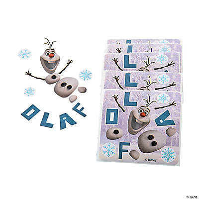Disney's Frozen Make Your Own Olaf Stickers