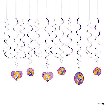 Disney's Rapunzel Swirl Decorations
