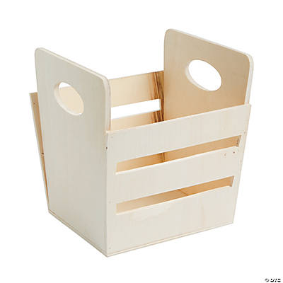 Diy apple crate oriental trading discontinued for Diy apple boxes