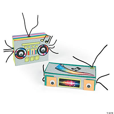 DIY Boombox Aliens Project Idea