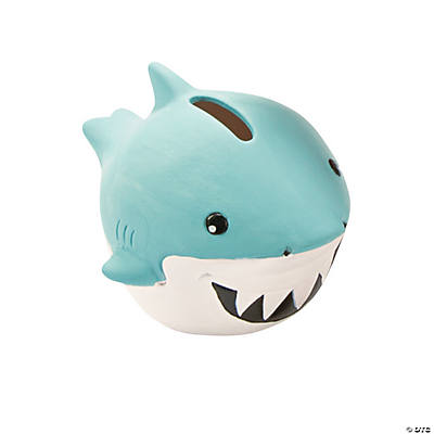 DIY Ceramic Shark Banks