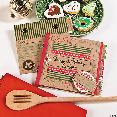 DIY Christmas Recipe Book Idea