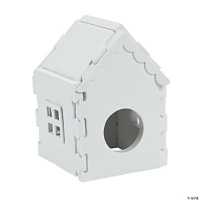 DIY 3D Birdhouses
