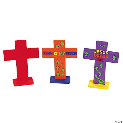 24 DIY Fabulous Foam Crosses