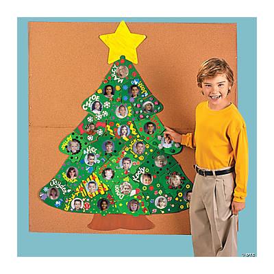 DIY Giant Bulletin Board Christmas Tree Puzzle  Oriental Trading