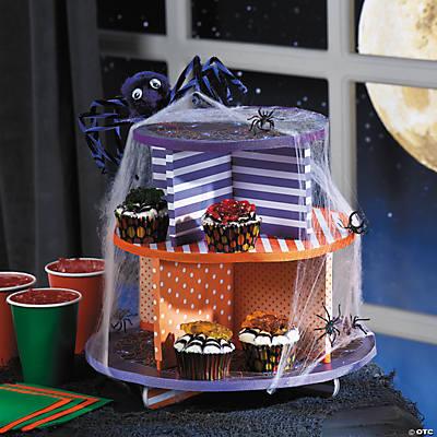 diy halloween cupcake stand idea - Halloween Cupcake Holder
