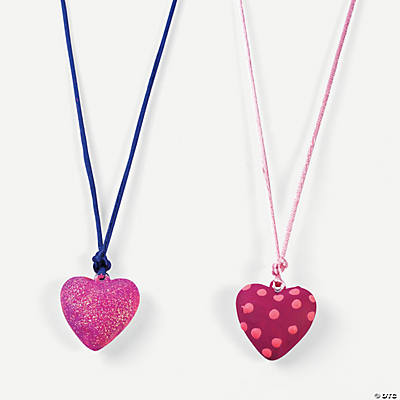 DIY Heart Pendants