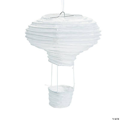 DIY Hot Air Balloon Lanterns