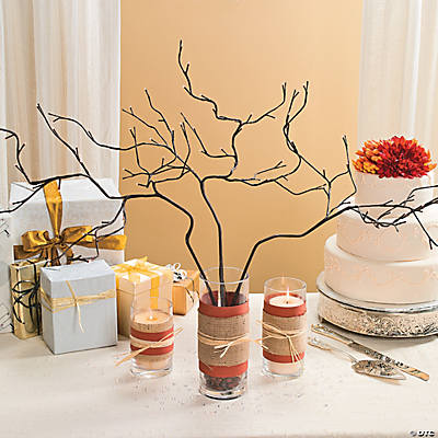 DIY Shabby Chic Centerpiece Idea
