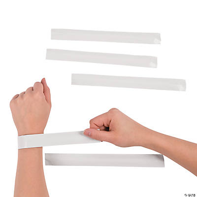DIY Slap Bracelets - 24 pcs.