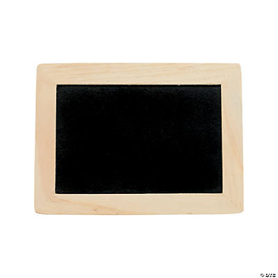 DIY Unfinished Wood Chalkboards