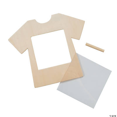 Diy unfinished wood t shirt frames for Unfinished wood frames for crafts