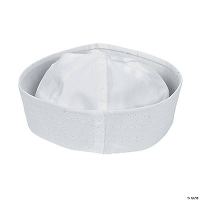 DIY White Sailor Hats - 6 pcs.