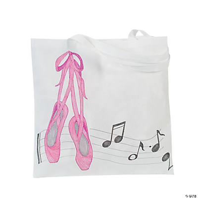 DIY White Tote Bags - 48 pcs.