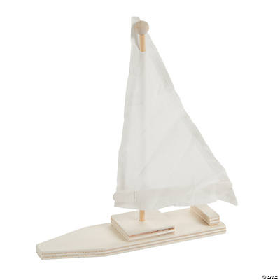 how to make a toy sailboat out of wood