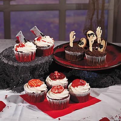 Diy zombie cupcakes recipe forumfinder Choice Image