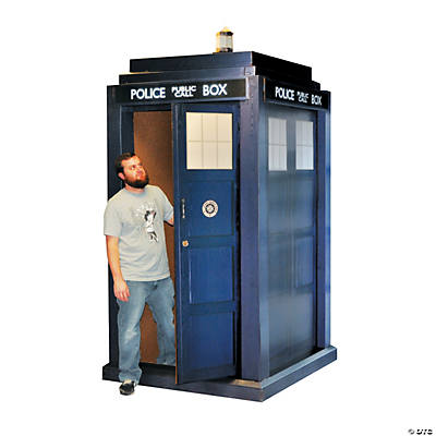 Doctor Who 3D Tardis Cardboard Stand-Up