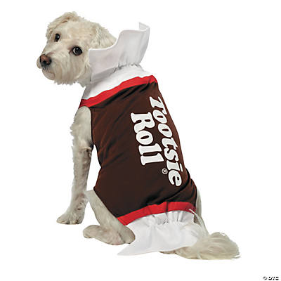 Dog Tootsie Roll Pet Costume Extra Large
