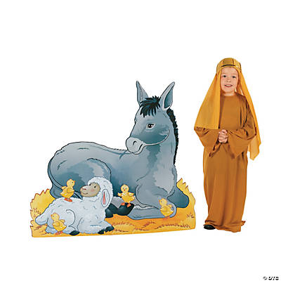 Donkey Nativity Stand-Up