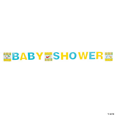 "Dr. Seuss™ ""Baby Shower"" Banner"