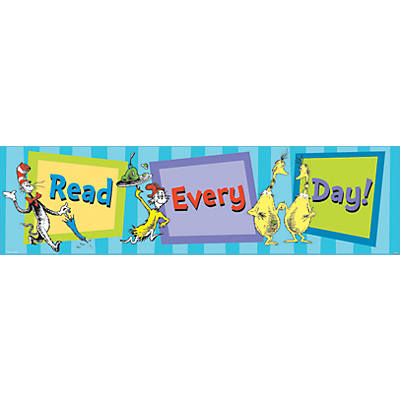 Dr. Seuss Cat in the Hat™ Read Every Day Banner