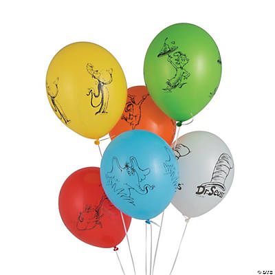 "Dr. Seuss™ Favorites 12"" Latex Balloons"