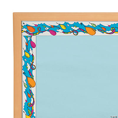 Dr. Seuss™ Oh the Places Balloon Bulletin Board Borders