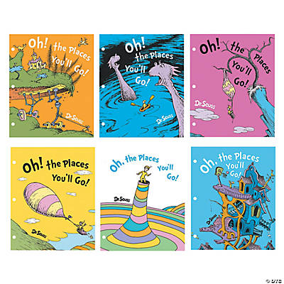 Dr. Seuss™ Oh, the Places You'll Go Folders