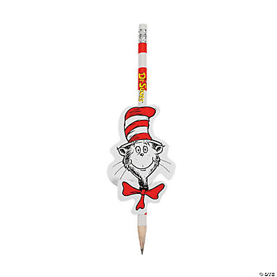 Dr. Seuss™ Reward Character Cards & Pencil Sets
