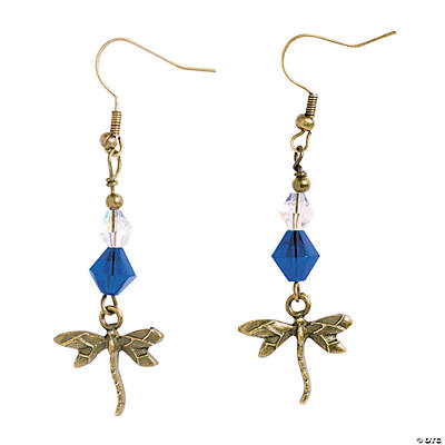 Dragonfly Earrings Craft Kit
