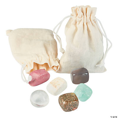Drawstring Bags with Gems