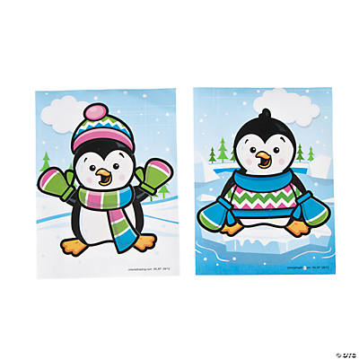 Dress-A-Penguin Stickers